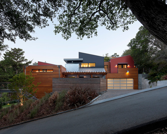 Modern Green Home Mill Valley Ca