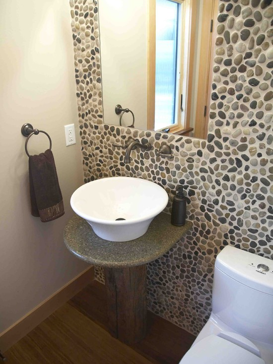 Sustainable Materials Powder Room