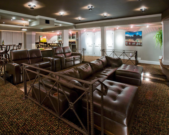 Traditional Media Room