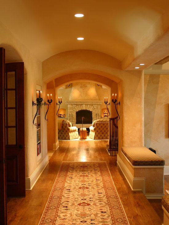 Country French Estate Hallway