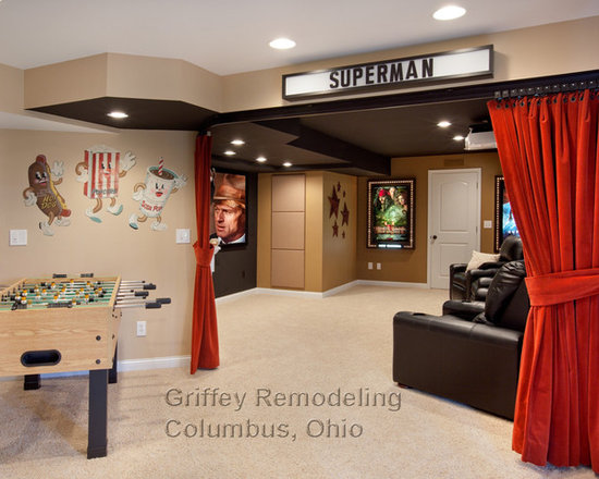 Westerville Ohio Basement Remodel