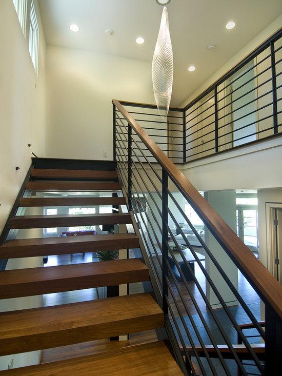 Open Modern Stair