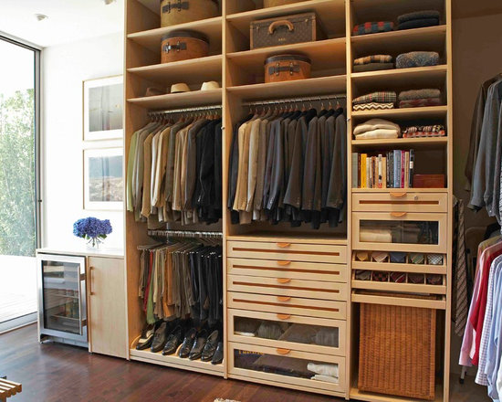 The Living Space Closet His